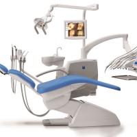 Szwajcarski unit stomatologiczny  Stern Weber 300 zapewniający wygodę pacjentowi oraz doskonałą ergonomię pracy